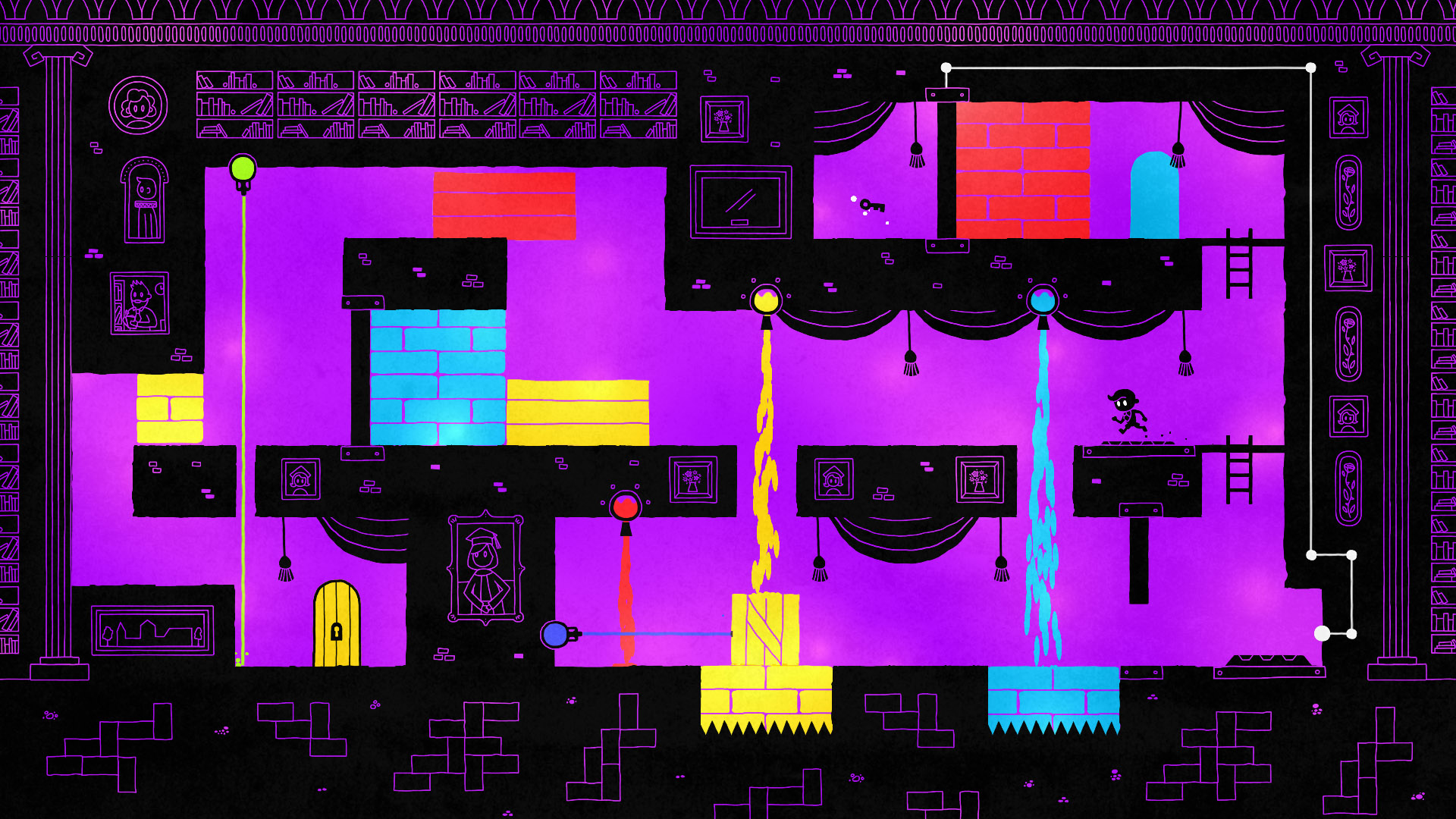 Hue the Game, available on Steam, Xbox One, PS4 and PlayStation Vita